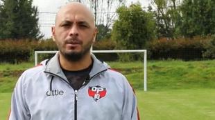 Omar Pérez, exfutbolista de Santa Fe.