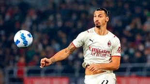 Zlatan Ibrahimovic, delantero de AC Milan
