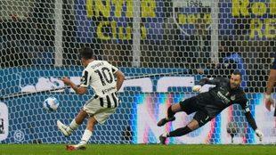 Dybala engaña a Handanovic y anota el empate de la Juve ante el...
