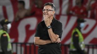 Juan Carlos Osorio, durante el partido contra Nacional.
