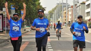 Más de 5.000 personas en todo el país participaron de la Carrera...