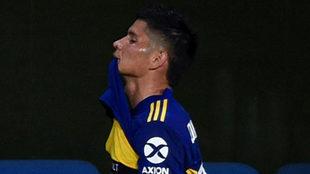 Jorman Campuzano, jugador de Boca Juniors.