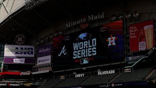 El Minute Maid Park, casa de los Houston Astros.