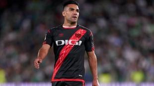 Radamel Falcao, delantero del Rayo Vallecano