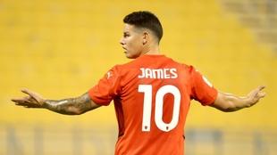 James sigue a paso firme su camino para volver a la Selección.