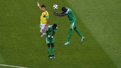 Primeros veinte minutos de juego y Colombia empata con Senegal en el Samara Arena
